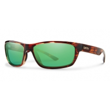 Ridgewell Tortoise Techlite Polarized Green Mirror by Smith Optics in Austin Tx