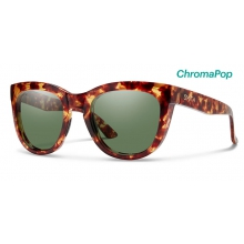 Sidney Yellow Tortoise ChromaPop Polarized Gray Green by Smith Optics