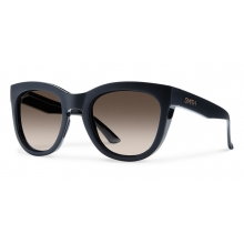 Sidney Matte Black Polarized Brown Gradient by Smith Optics in Sandy Ut