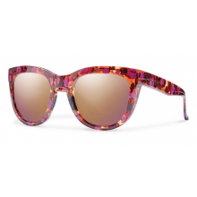 Sidney Flecked Mulberry Tortoise Rose Gold Mirror by Smith Optics in Columbia Mo