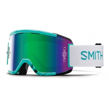 Squad MTB Feathers Green Sol-X Mirror by Smith Optics