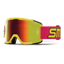 Squad MTB Archive 1991 Neon Red Sol-X Mirror by Smith Optics