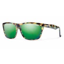 Tioga Flecked Green Tortoise Green Sol-X Mirror by Smith Optics in Highland Park Il