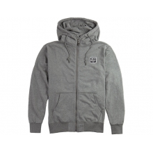 Welden Zip Up Men's Hoodie Gunmetal Heather Small