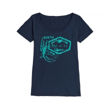 Wanderlust Women's T-Shirt Indigo Large by Smith Optics