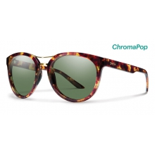 Bridgetown Tortoise ChromaPop Polarized Gray Green by Smith Optics in Sylva Nc