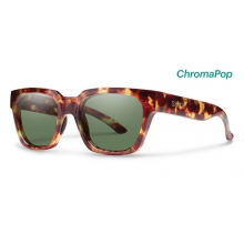 Comstock Yellow Tortoise ChromaPop Polarized Gray Green by Smith Optics