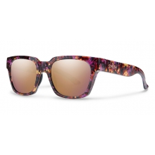 Comstock Flecked Mulberry Tortoise Rose Gold Mirror by Smith Optics