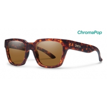 Comstock Matte Vintage Havana ChromaPop Polarized Brown by Smith Optics in Boise Id