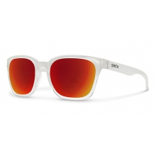 Founder Crystal Split Red Sol-X Mirror by Smith Optics in Edwards Co