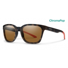 Founder Howler Matte Tortoise ChromaPop Polarized Brown by Smith Optics in Sandy Ut