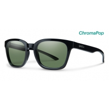 Founder Slim Black ChromaPop Polarized Gray Green by Smith Optics in Austin Tx