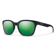 Founder Slim Matte Black Green Sol-X Mirror by Smith Optics