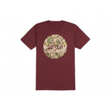 Haze Men's T-Shirt Oxblood Large by Smith Optics