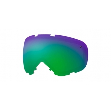 Phenom Turbo Fan Replacement Lenses Phenom Turbo Fan Green Sol-X Mirror by Smith Optics