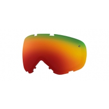 Phenom Turbo Fan Replacement Lenses Phenom Turbo Fan Red Sol-X Mirror by Smith Optics