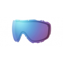 Prophecy Turbo Fan Replacement Lenses Prophecy Turbo Fan Blue Sensor Mirror by Smith Optics