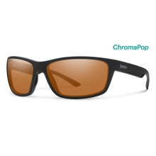 Redmond Matte Black ChromaPop Polarized Copper by Smith Optics in Asheville Nc