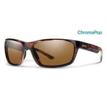 Redmond Tortoise ChromaPop Polarized Brown by Smith Optics in Charleston Sc