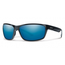 Redmond Black Techlite Polarized Blue Mirror by Smith Optics