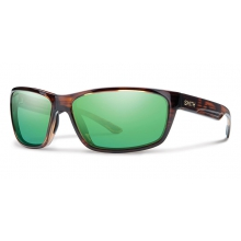 Redmond Tortoise Techlite Polarized Green Mirror by Smith Optics