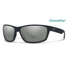 Redmond Matte Black ChromaPop+  Polarized Platinum by Smith Optics