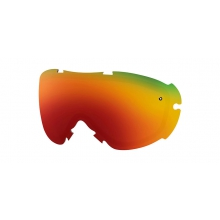 Virtue Replacement Lenses Virtue Red Sol-X Mirror by Smith Optics