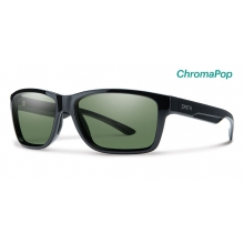 Wolcott Black ChromaPop Polarized Gray Green by Smith Optics in Park City Ut
