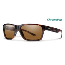 Wolcott Tortoise ChromaPop Polarized Brown by Smith Optics
