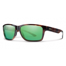Wolcott Tortoise Techlite Polarized Green Mirror by Smith Optics