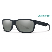 Wolcott Matte Black ChromaPop+  Polarized Platinum by Smith Optics