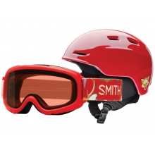 Zoom/Gambler Combo Fire Animal Kingdom Youth Medium (53-58 cm) by Smith Optics