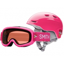 Zoom/Gambler Combo Pink Sugarcone Youth Medium (53-58 cm) by Smith Optics