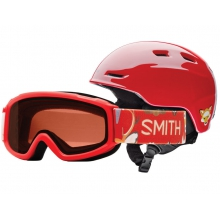 Zoom/Sidekick Combo Fire Animal Kingdom Youth Small (48-53 cm) by Smith Optics