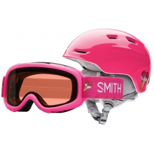 Zoom/Sidekick Combo Pink Sugarcone Youth Small (48-53 cm) by Smith Optics in Juneau Ak