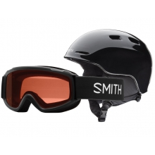 Zoom/Sidekick Combo Black Youth Small (48-53 cm) by Smith Optics