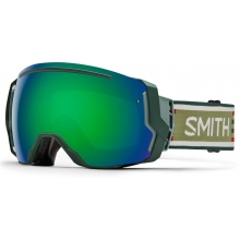 I/O 7 Forest Woolrich Green Sol-X Mirror by Smith Optics
