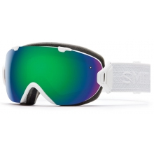 I/OS White Eclipse Green Sol-X Mirror by Smith Optics
