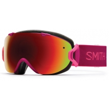 I/OS Fuchsia Static Red Sol-X Mirror by Smith Optics