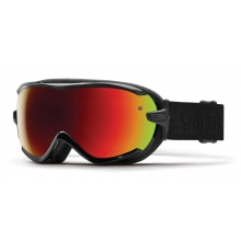 Virtue Black Eclipse Red Sol-X Mirror by Smith Optics
