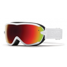 Virtue White Eclipse Red Sol-X Mirror by Smith Optics