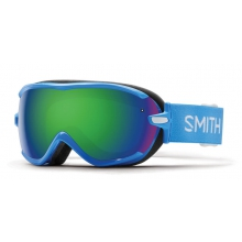 Virtue French Blue Static Green Sol-X Mirror by Smith Optics