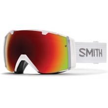 I/O White Red Sol-X Mirror by Smith Optics