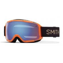 Grom Neon Orange Sunset Blue Sensor Mirror by Smith Optics