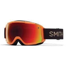 Grom Neon Orange Sunset Red Sol-X Mirror by Smith Optics