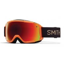 Grom Neon Orange Sunset Red Sol-X Mirror by Smith Optics