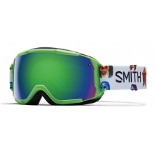 Grom Reactor Creature Green Sol-X Mirror by Smith Optics