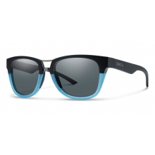 Landmark Matte Black Corsair Polarized Gray by Smith Optics