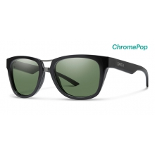 Landmark Black ChromaPop Polarized Gray Green by Smith Optics