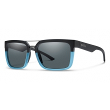 Highwire Matte Black Corsair Polarized Gray by Smith Optics in Salmon Arm Bc